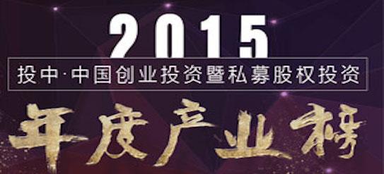 投中2015年度中国VC/PE产业榜