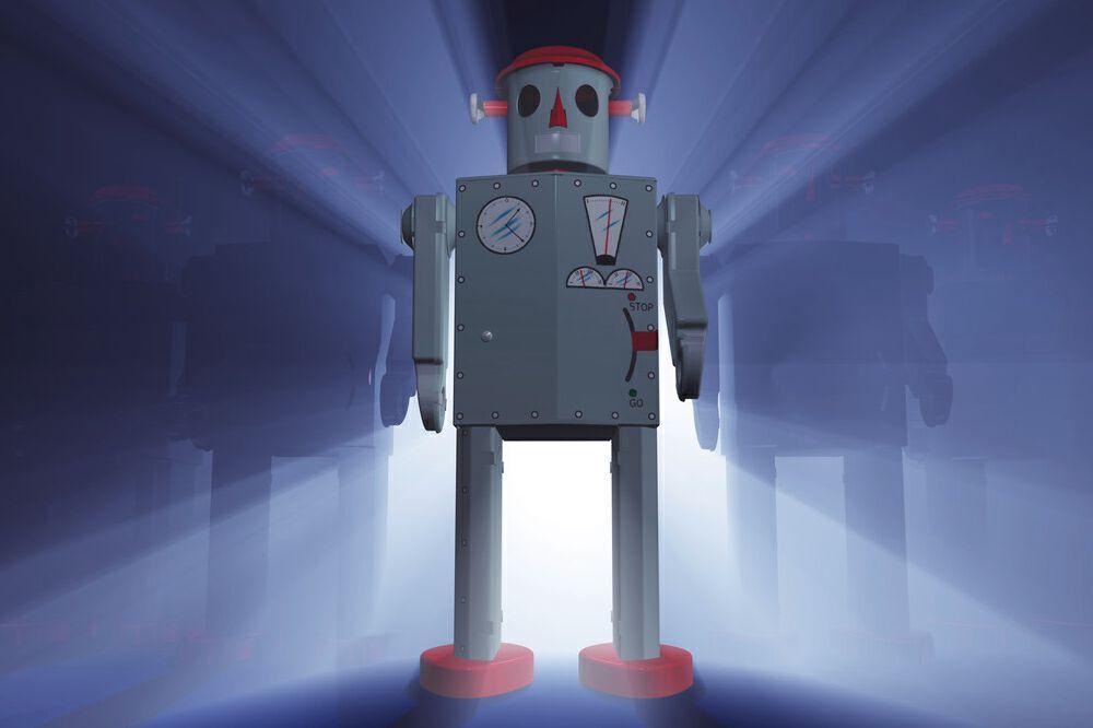 灵动科技发布第四代移动机器人V-AMR